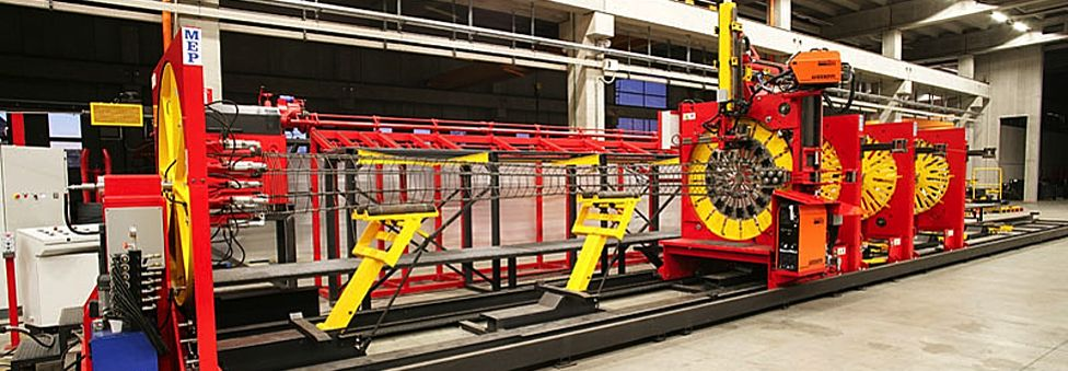 Automatic Pile & Cage Fabrication Machines | Concrete Pile